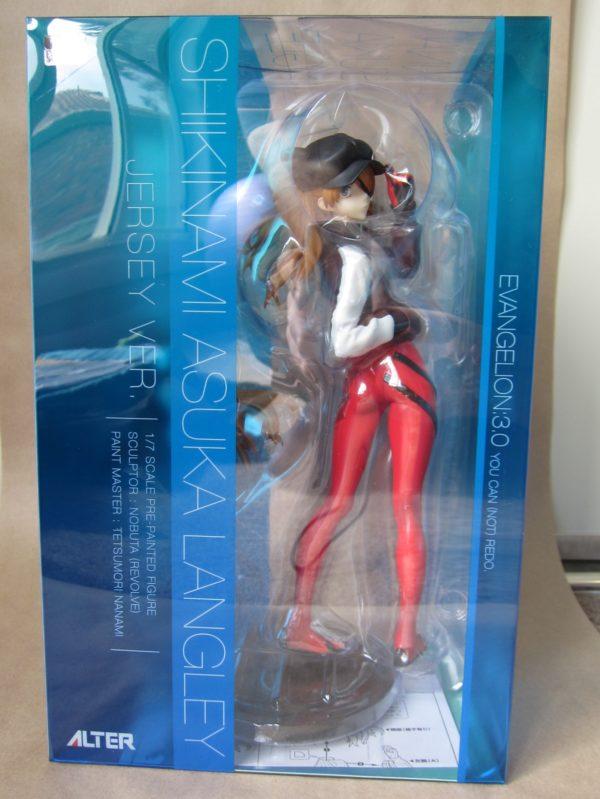Evangelion: 3.0 You Can (Not) Redo - Asuka Langley Shikinami Jersey Ver. 1/7 / Евангелион аниме фигурка