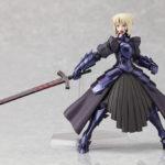 Figma 072 Fate stay Night Black armor Saber / Судьба ночь схватки Сэйбер аниме фигурка 2