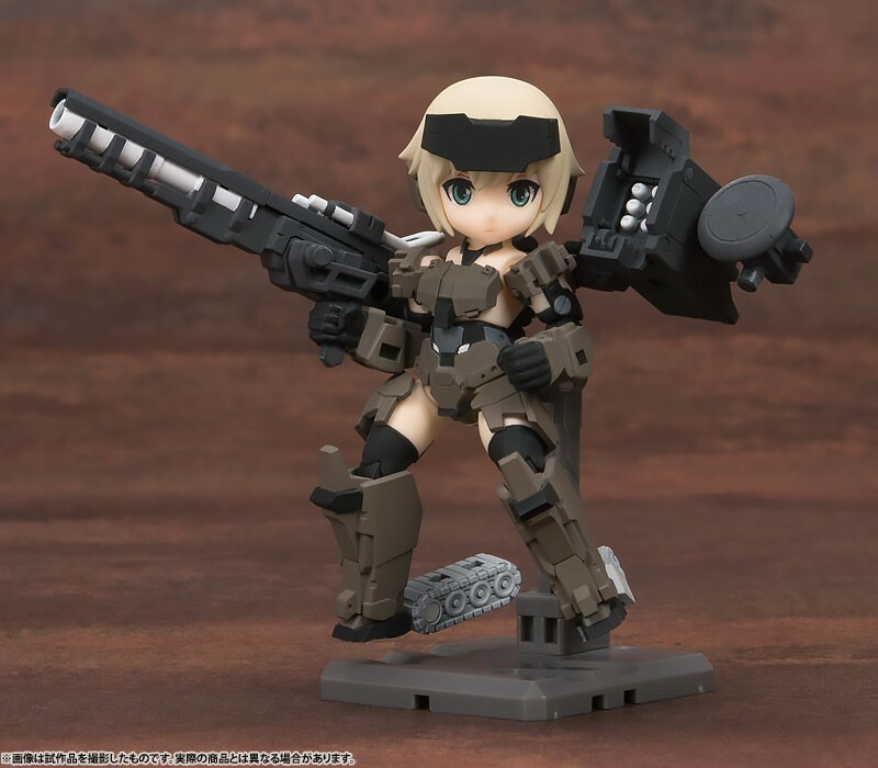Frame Arms Girl KT-321f Gourai Series – Desktop Army – All 3Type Set 2