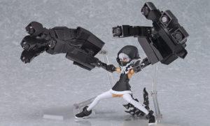 Figma 198. Strength: TV ANIMATION ver. Black Rock Shooter / Стрелок с Черной скалы фигма фигурка