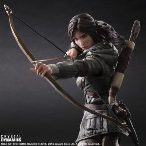 PLAY ARTS LARA CROFT RISE OF THE TOMB RAIDER / Фигурка Лары Крофт