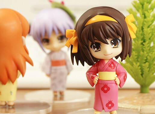 The Melancholy of Haruhi Suzumiya: Haruhi Summer Festival Set [Nendoroid Petite] 2