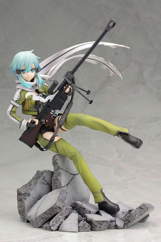 Sinon - 1/8 Sword Art Online II Phantom Bullet / Синон аниме фигурка Мастера меча онлайн