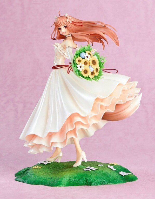 Holo Wedding Dress ver. [Ookami to Koushinryou] [Spice and Wolf] [1/8 Complete Figure]