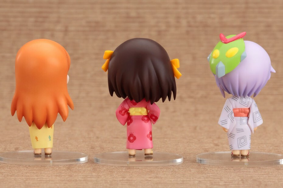 The Melancholy of Haruhi Suzumiya: Haruhi Summer Festival Set [Nendoroid Petite] 3