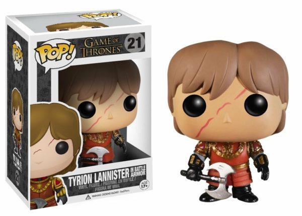 Tyrion Lannister w/Scar Battle Armour - Game of Thrones Funko POP / Тирион Ланнистер - Фанко ПОП Игра Престолов