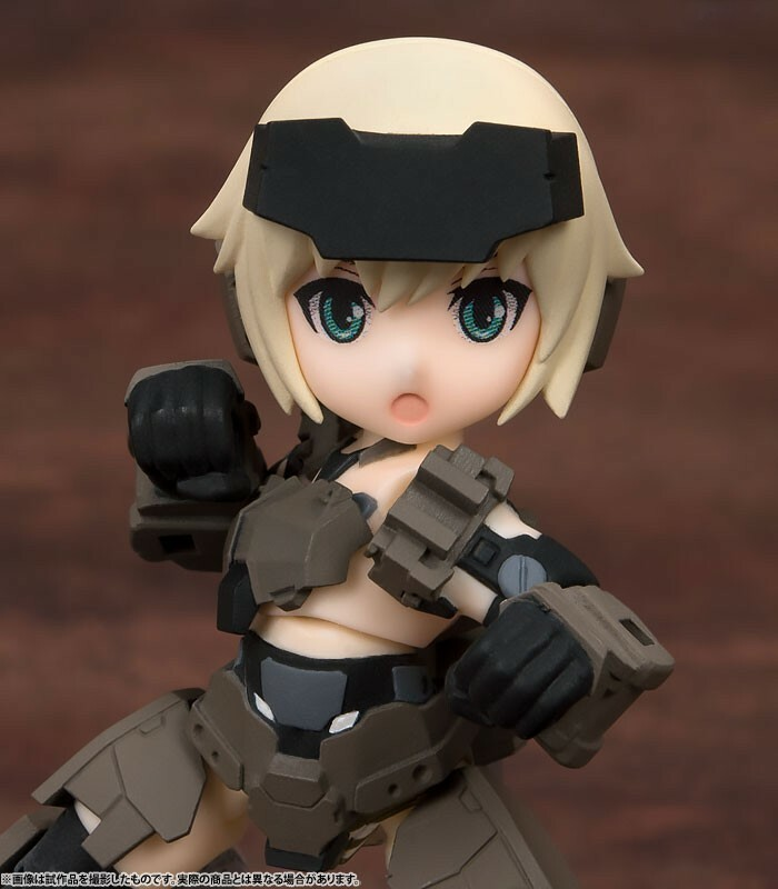 Frame Arms Girl KT-321f Gourai Series – Desktop Army – All 3Type Set 13