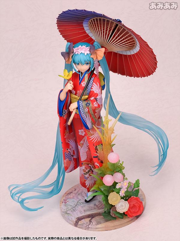 Hatsune Miku -Hanairogoromo- Vocaloid [1/8 Complete Figure]
