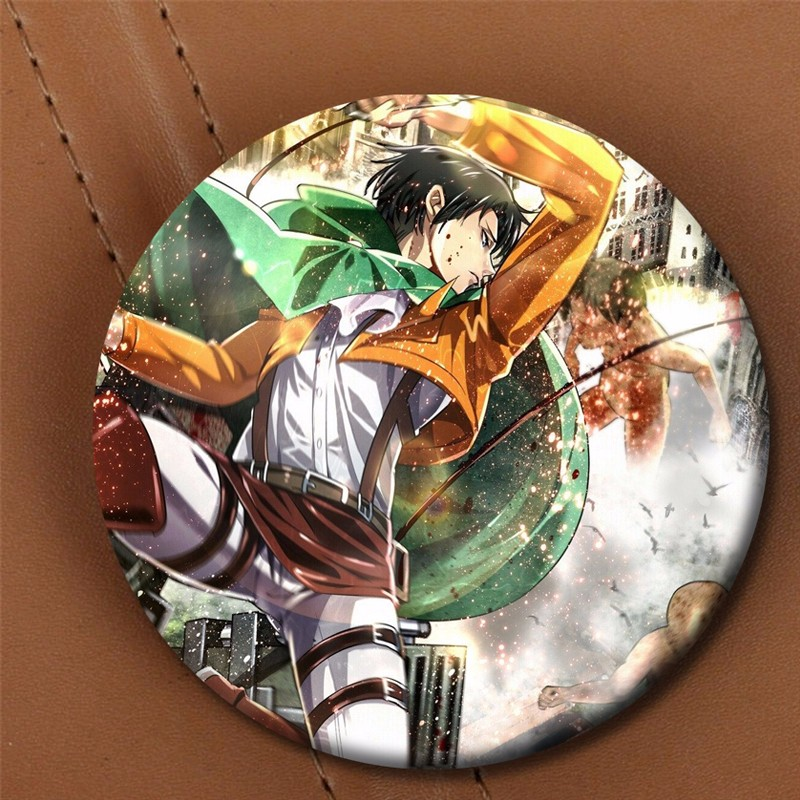 Attack on Titan / Атака титанов/ Вторжение гигантов аниме значки