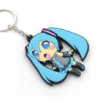 Hatsune Miku Vocaloid Keychain / Вокалоид Мику брелок для ключей 1