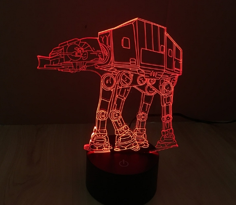 LED lamp Star Wars