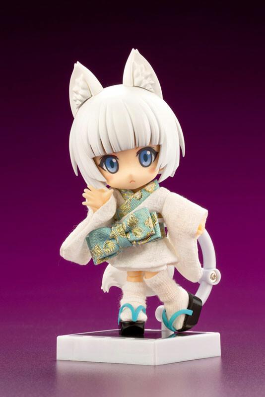 Shiro Kitsune Posable Figure - Cu-poche Friends