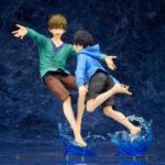 Haruka Nanase & Makoto Tachibana 1/7 Complete Figure (High Speed!: Free! Starting Days) 1