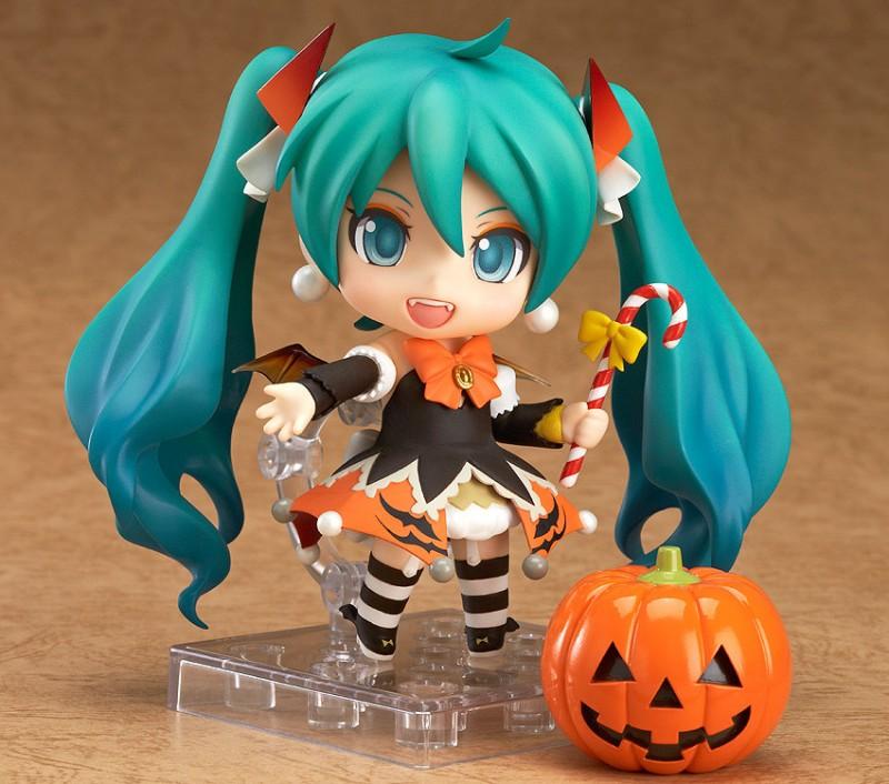 Nendoroid 448. Hatsune Miku: Halloween Ver. Vocaloid аниме фигурка