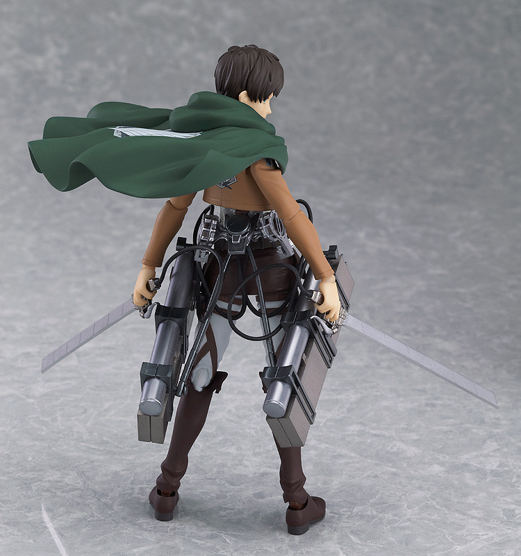 Figma 207. Eren Yeager Attack on Titan / Эрен Йегер фигурка Вторжение Гигантов