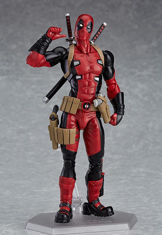 Figma EX-042. Deadpool DX ver. / Фигурка Дэдпул Фигма
