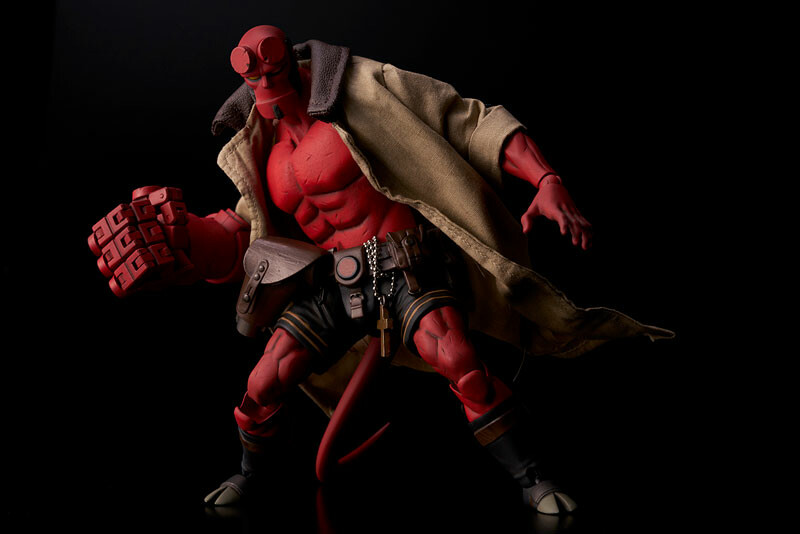 Hellboy Action Figure - 1000toys [1/12 Complete Figure]