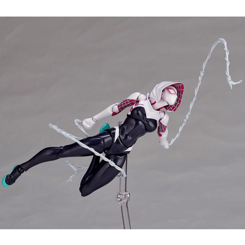 Spider-Gwen - Amazing Yamaguchi No.004 (Гвен человек паук фигурка)