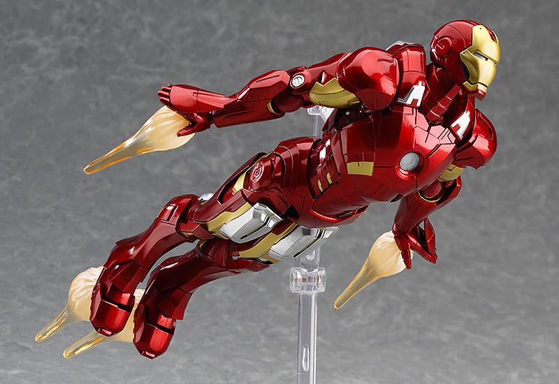 Figma EX-018. Iron Man Mark VII: Full Spec ver. / Железный человек фигурка Марк 7