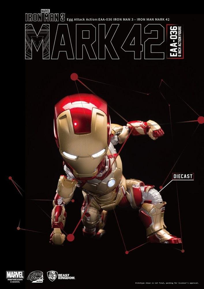 MARVEL IRON MAN 3 MARK 42 - [EGG ATTACK EAA-036]