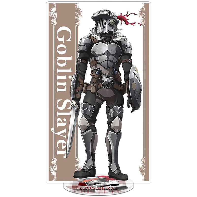 Goblin Slayer (Убийца гоблинов) Акриловые фигурки персонажей.