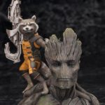 Guardians of the Galaxy Groot and Rocket Raccoon Complete Figure / Стражи Галактики Грут и реактивный енот фигурка 1