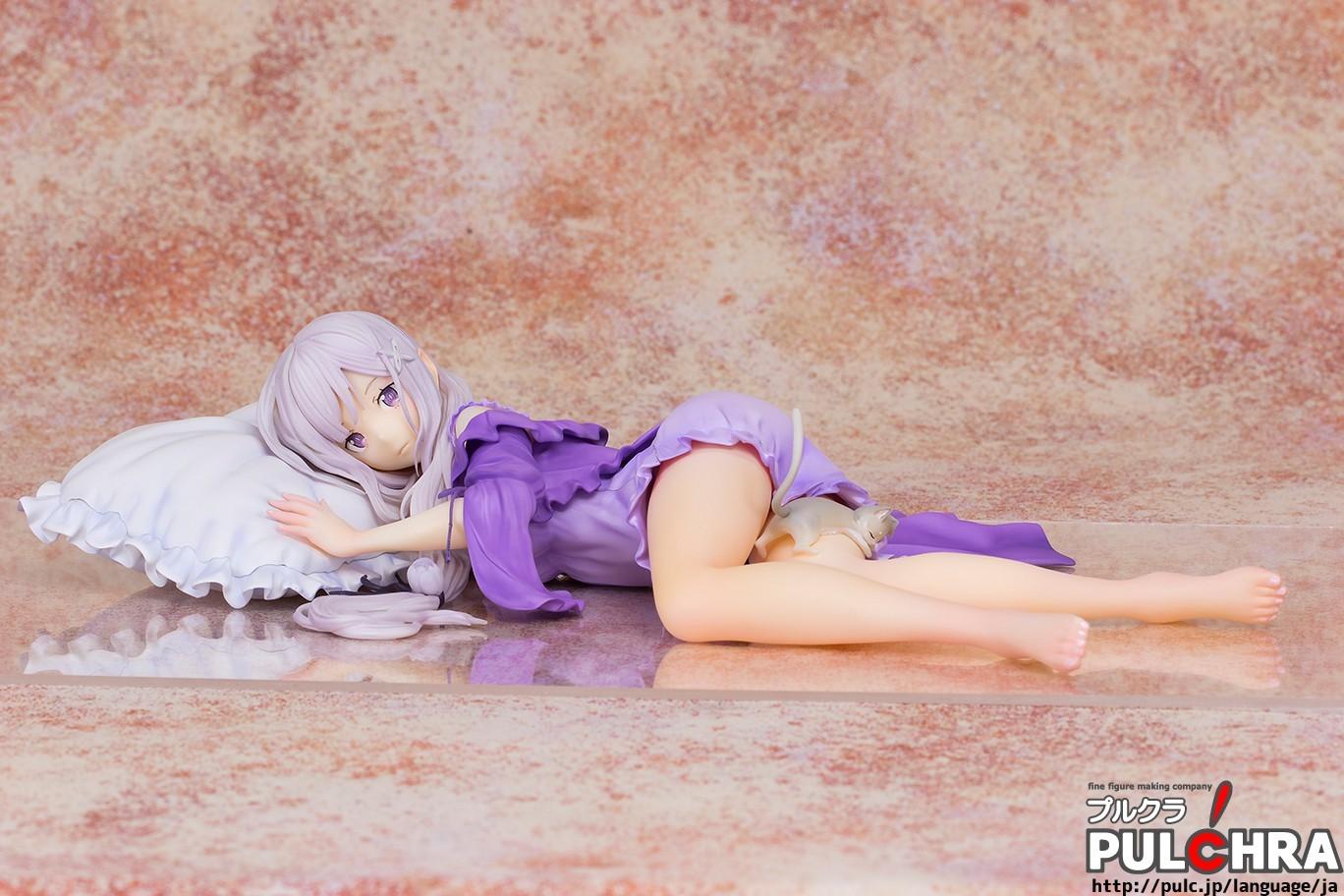 Re:Zero kara Hajimeru Isekai Seikatsu - Emilia - Puck [1/7 Complete Figure]