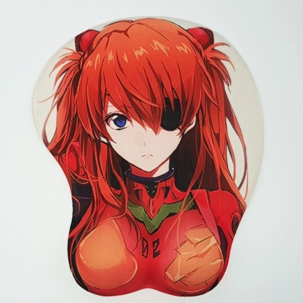Мягкий коврик для мыши Asuka Langley Soryu [Evangelion]