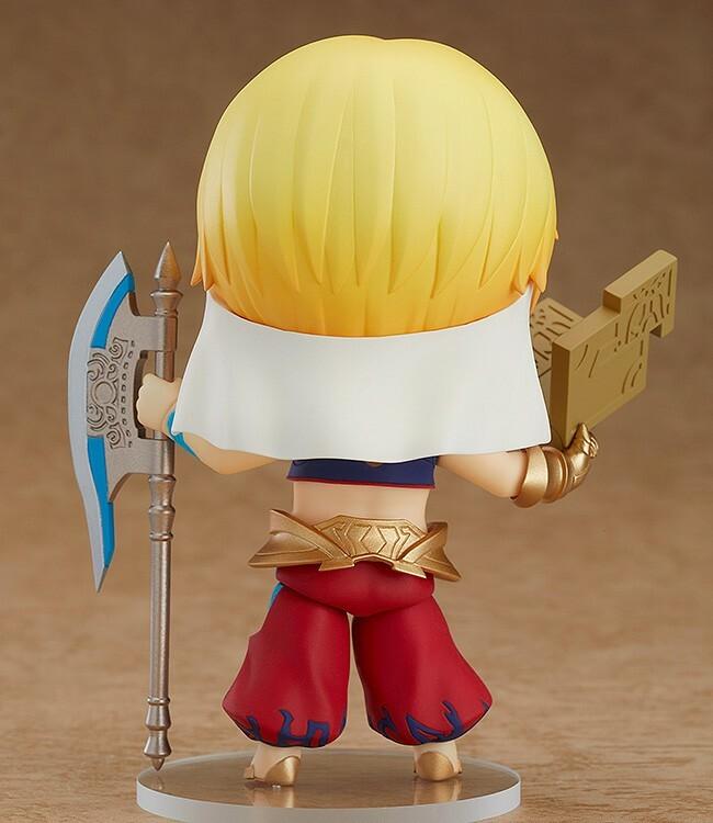 Nendoroid 990. Caster/Gilgamesh (Fate/Grand Order)