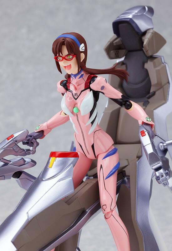 Makinami Mari Illustrious: New Plugsuit ver. - Evangelion 2.0 - Figma 079