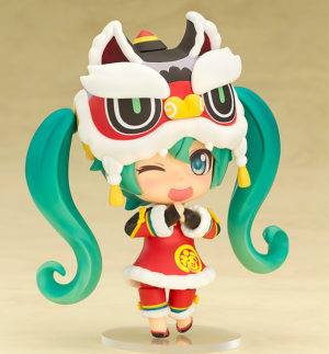 Nendoroid 654. Hatsune Miku: Lion Dance Ver. / Вокалоид аниме фигурка Мику Хацунэ
