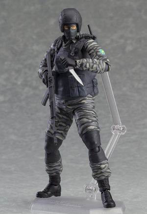 Figma 298. Gurlukovich Solider Metal Gear Solid / Metal Gear Solid фигурка солдата