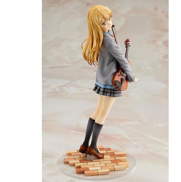 Your Lie in April Miyazono Kaori 1/7 Scale Painted PVC Action Figure / Твоя апрельская ложь аниме фигурка