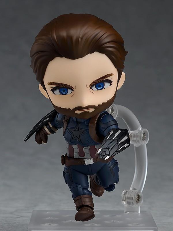 Nendoroid 923. Captain America: Infinity Edition (Нендороид фигурка Капитан Америка)