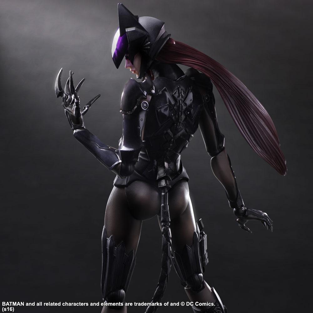 PLAY ARTS -KAI- CATWOMAN DC COMICS / Женщина-кошка фигурка