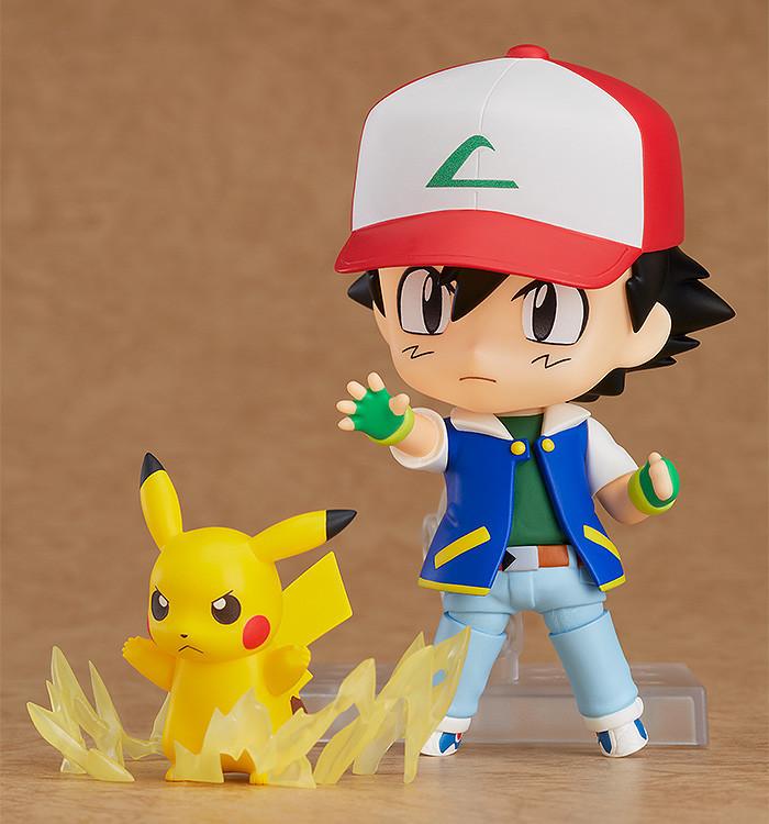 Nendoroid 800. Ash & Pikachu Pokemon (Покемон)