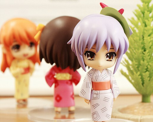 The Melancholy of Haruhi Suzumiya: Haruhi Summer Festival Set [Nendoroid Petite] 6