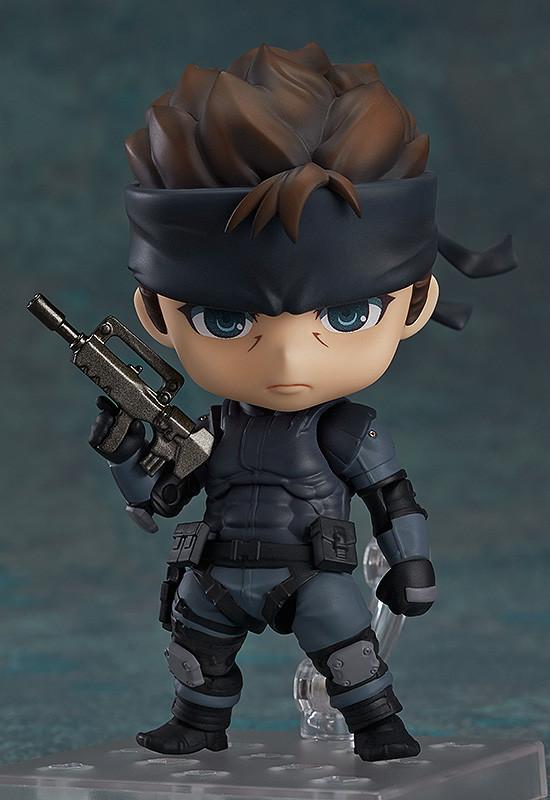 Nendoroid 447. Solid Snake Metal Gear Solid / Фигурка нендороид Солид Снейк