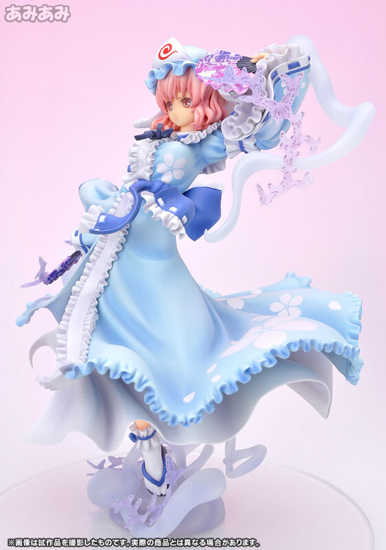 Yuyuko Saigyouji - Ghost Girl in the Netherworld Tower [Touhou Project] [1/8 Complete Figure]