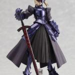 Figma 072 Fate stay Night Black armor Saber / Судьба ночь схватки Сэйбер аниме фигурка 4