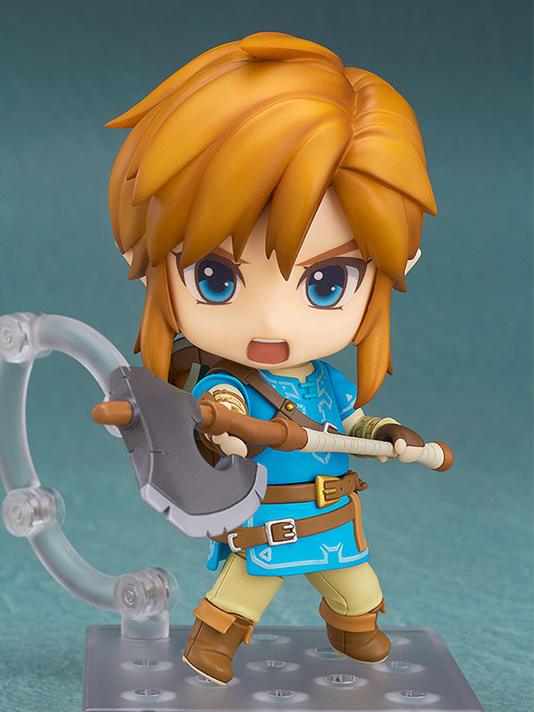 Nendoroid 733DX. Link The Legend of Zelda Breath of the Wild Ver. DX Edition