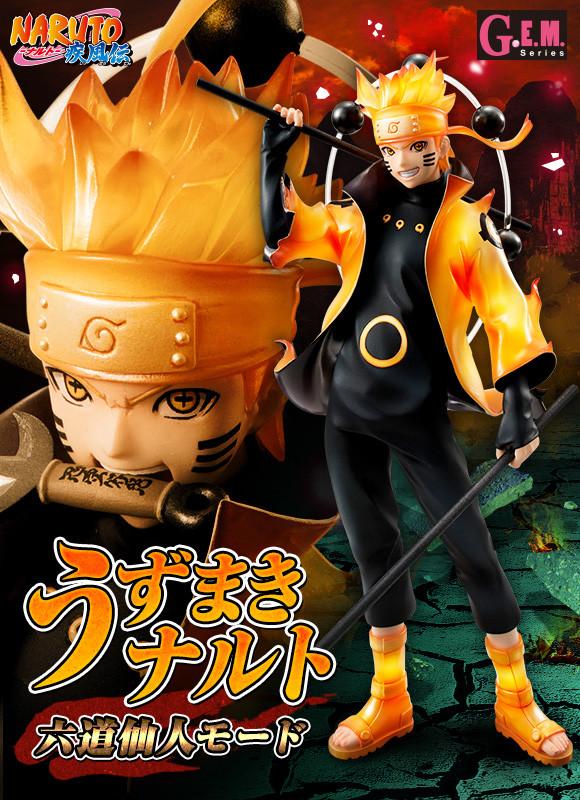 Naruto Shippuuden - Uzumaki Naruto - Rikudou Sennin Mode [1/8 Complete Figure]