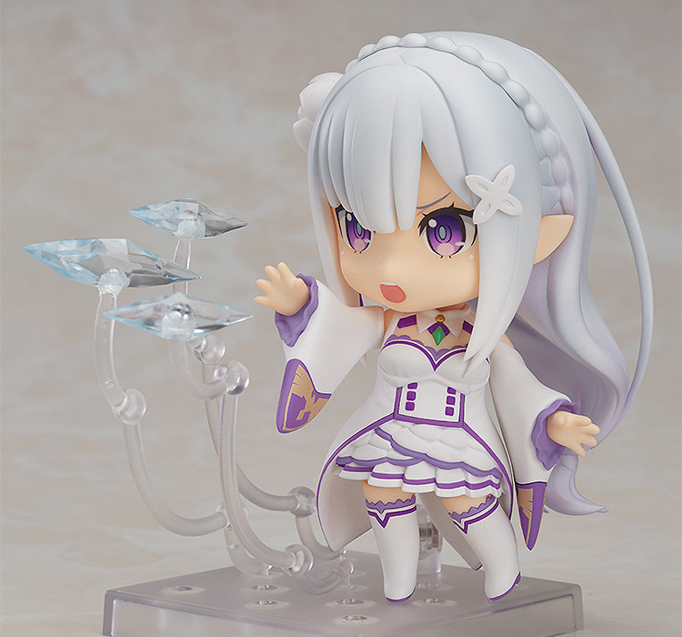 Nendoroid 751. Emilia Re: Zero / Эмилия - нендороид фигурка