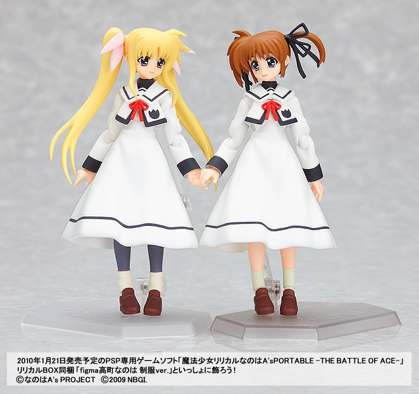 Figma 062. Fate Testarossa: School Uniform ver. Magical Girl Lyrical Nanoha
