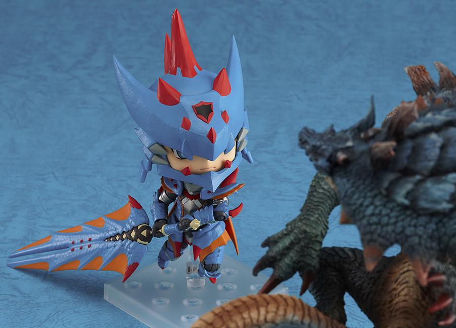 Nendoroid 266. Hunter: Male Swordsman - Lagia X Edition Monster Hunter