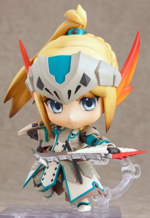 Nendoroid 273. Hunter: Female Swordsman - Bario X Edition Monster Hunter