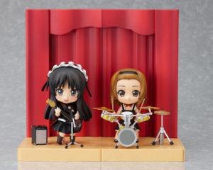 Tainaka Ritsu & Akiyama Mio Live Stage Ver. Set - K-ON! - Nendoroid 101