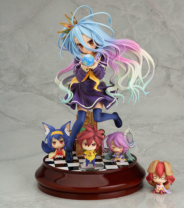 No Game No Life Shiro 1/7 Complete Figure / аниме фигурка Сиро