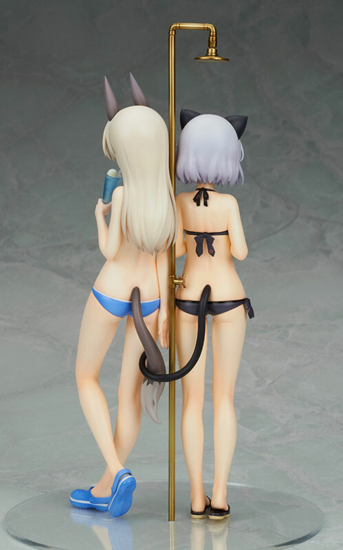Sanya & Eila Swimsuit Ver. - Strike Witches 2 1/8
