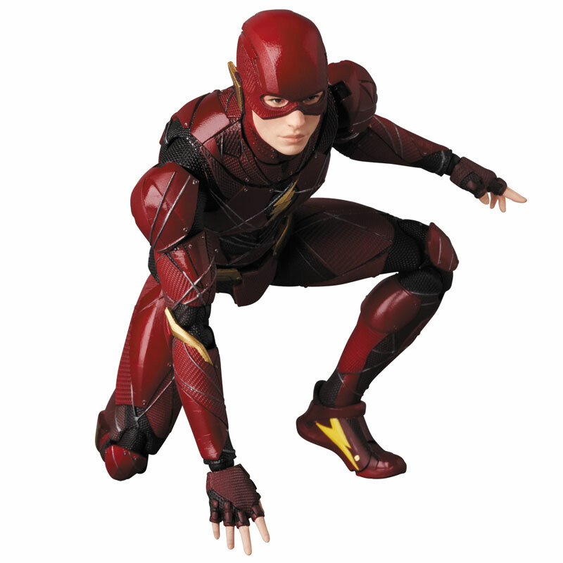 Justice League - Barry Allen - Flash - Mafex No.58